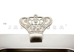 سینی – سینی جاسمینورا – جاسمینورا – سینی جاسمینورا مدل امپراطور ساتین – سینی امپراطور – سینی مدل امپراطور کد 225 – برند جاسمینورا – jasminora – سینی جاسمینورا
